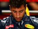 MONZA, ITALY F1/2016: Daniel Ricciardo of Red Bull Racing sits in his car in the garage during practice.