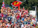 MONZA, ITALY F1/2016 Fans during qualifying for the Formula One Grand Prix.