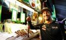 Daniel Ricciardo at the Newton Food Centre during previews ahead of the Formula One Grand Prix of Singapore at Marina Bay Street Circuit 2016