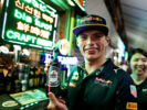 Max Verstappen at the Newton Food Centre Singapore 2016