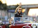 Daniil Kvyat on drivers parade before the Formula One Grand Prix of Singapore 2016