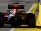 Daniel Ricciardo on track during the Formula One Grand Prix of Singapore 2016