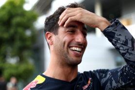Daniel Ricciardo in the Paddock during previews for the Malaysia Formula One Grand Prix 2016