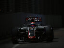 Romain Grosjean on track Singapore GP F1/2016