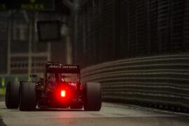 Fernando Alonso. Singapore GP F1/2016