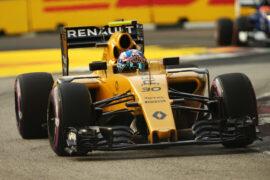 Jolyon Palmer Renault Sport F1 Team RS16. Singapore GP F1/2016