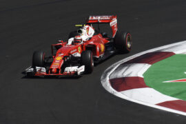 Kimi Raikkonen Ferrari Mexican GP F1/2016