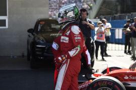 Sebastian Vettel Ferrari Mexican GP F1/2016