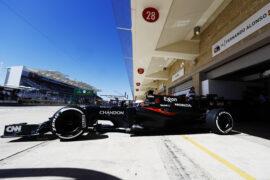 Circuit of the Americas, Austin Texas, USA. McLaren.