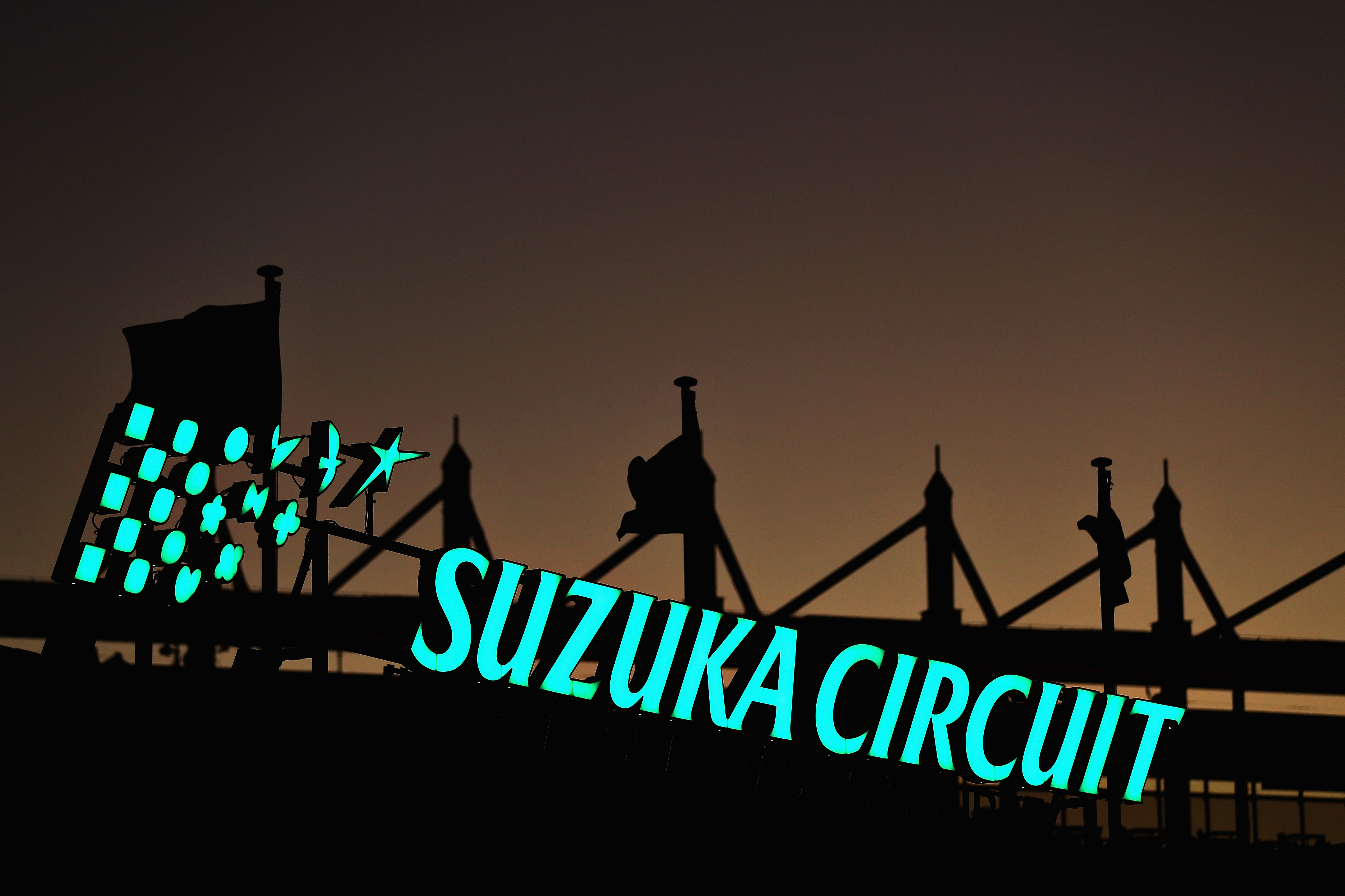 Perfect lap guide Suzuka race course