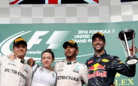 Race Results 2016 USA F1 grand prix