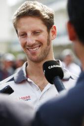 Romain Grosjean-media