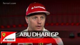The Abu Dhabi GP with Kimi Raikkonen - Scuderia Ferrari 2016