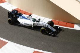 Yas Marina Circuit, Abu Dhabi 2016 Felipe Massa, Williams FW38 Mercedes.