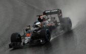 Fernando Alonso on track, Brazilian GP F1/2016