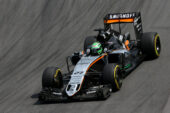 Nico Hulkenberg, Force India VJM09, 2016 Brazilian Grand Prix 2016
