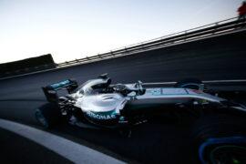 Mercedes onboard crash (both Mercedes drivers) Spain 2016