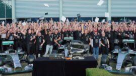 F1 2016 - Mercedes End Credits