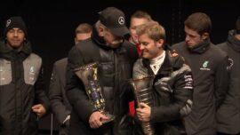 F1 Champ Nico Rosberg visit Mercedes factory Sindelfingen