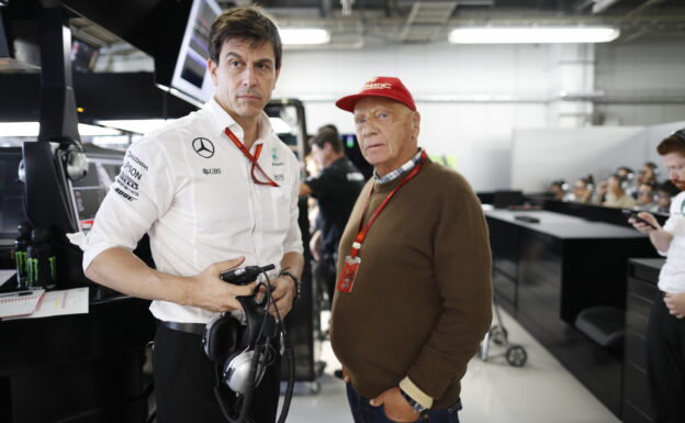 Wolff: Team boss role 'less fun' without Lauda