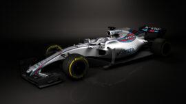 Williams FW40 Unveil lef-front