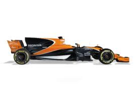 McLaren MCL32 side view
