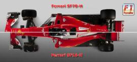 SF70-H VS SF16-H top view