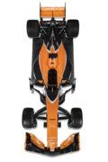 McLaren MCL32 top view