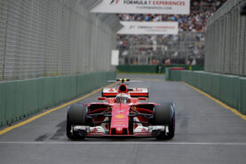 Kimi Raikkonen Ferrari SF70H, 2017 Australian GP