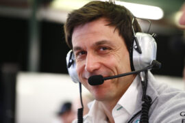 Toto Wolff interview about racing & plans for getting back to work