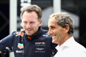 Prost wants Alpine team to be very careful with drivers