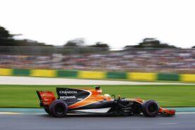Fernando Alono, McLaren MCL32, 2017 Australian GP