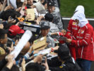 Sebastian Vettel with Fans Shanghai Internationl Circuit China F1/2017