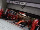 Sebastian Vettel Ferrari SF70H Chinese GP F1/2017