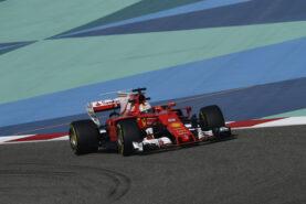 Sebastian Vettel, Ferrari SF70H at 2017 Bahrain GP