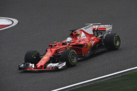 Sebastian Vettel Ferrari SF70H Shanghai International Circuit F1/2017