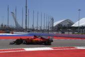 Sebastian Vettel, Ferrari SF70-H, 2017 Russian GP, Socchi Street Circuit