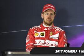 Sebastian Vettel GP CHINA F1/2017