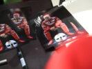 Sebastian Vettel signed cards Bahrain F1/GP 2017