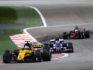 Jolyon Palmer (GBR) Renault Sport F1 Team RS17. Bahrain Grand Prix, Sunday 17th April 2017. Sakhir, Bahrain.