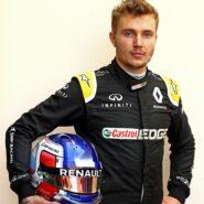Sergey Sirotkin (RUS) Renault Sport F1 Team Third Driver. Formula One Testing, Wednesday 18th April 2017. Sakhir, Bahrain.