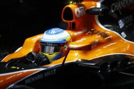 Shanghai International Circuit, Shanghai, China. Friday 07 April 2017. Fernando Alonso, McLaren.
