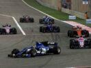 Pascal Wehrlein Sauber on top Bahrain GP 2017