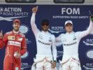 Formula One - Mercedes-AMG Petronas Motorsport, Chinese GP 2017. Lewis Hamilton, Valtteri Bottas; Sebastian Vettel