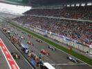 Start grid Chinese GP 2017