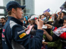 Daniil Kvyat of Scuderia Toro Rosso during previews to the Formula One Grand Prix of China at Shanghai International Circuit on April 6, 2017 in Shanghai, China.