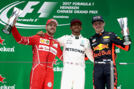 2017 Chinese Grand Prix: F1 Race Results, Winner & Report