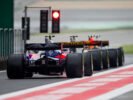 Carlos Sainz of Scuderia Toro Rosso and Spain during the Formula One Grand Prix of China at Shanghai International Circuit on April 9, 2017 in Shanghai, China.