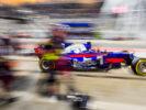 Daniil Kvyat of Scuderia Toro Rosso and Russia during the Bahrain Formula One Grand Prix at Bahrain International Circuit on April 16, 2017 in Bahrain, Bahrain.