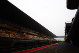 Start Chinese Gp F1 2017 at Shanghai International Circuit